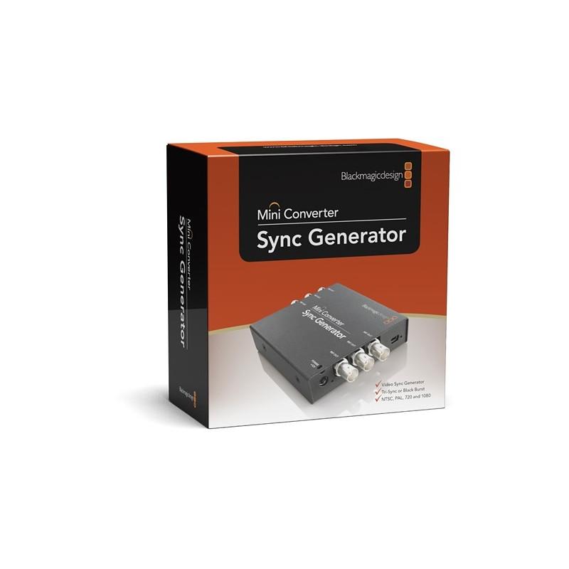 Blackmagic Mini Converter - Sync Generator