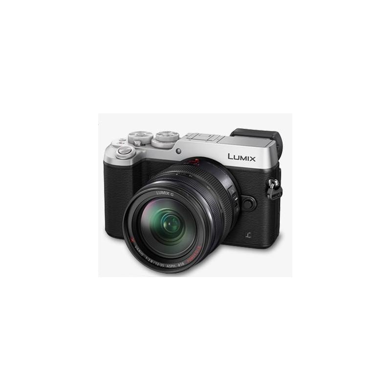 Aparat Panasonic DMC-GX8AEG-S 12-35 srebrny