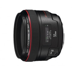 Obiektyw Canon EF 50mm f/1,2L USM