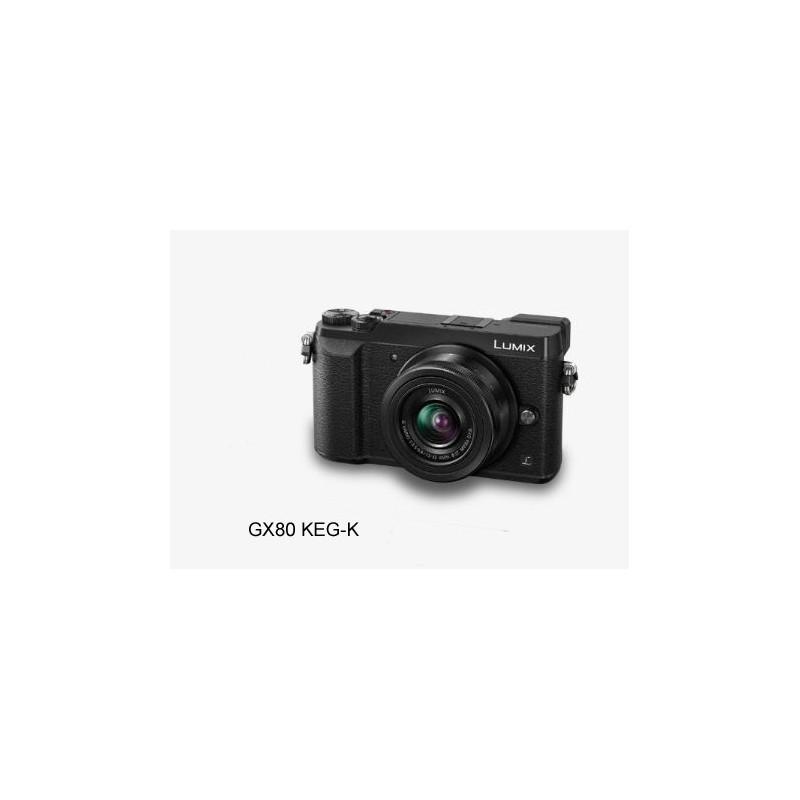 Aparat Panasonic DMC-GX80KEG-K 12-32 czarny