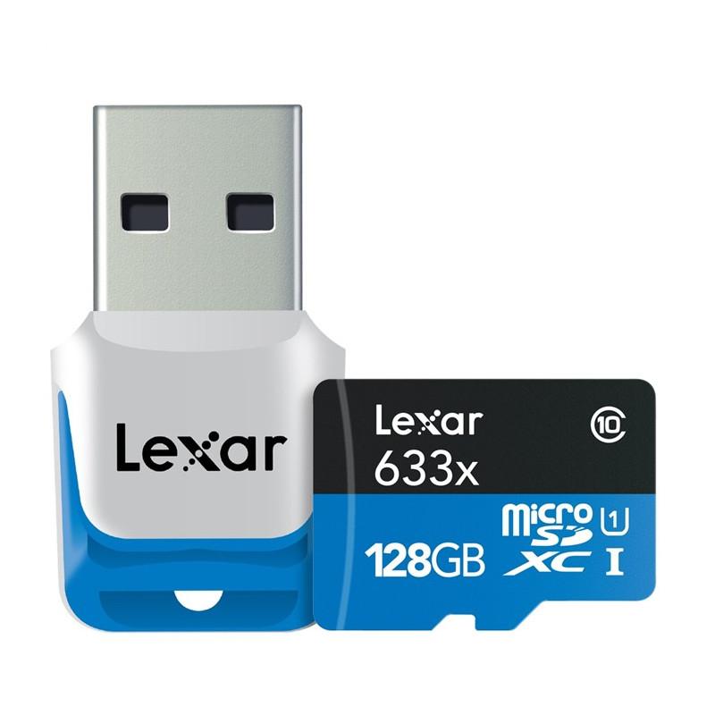 Lexar 128GB x633 microSDXC UHS-I