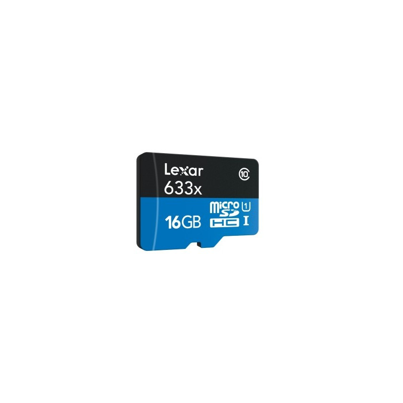 Lexar 16GB x633 microSDXC UHS-I