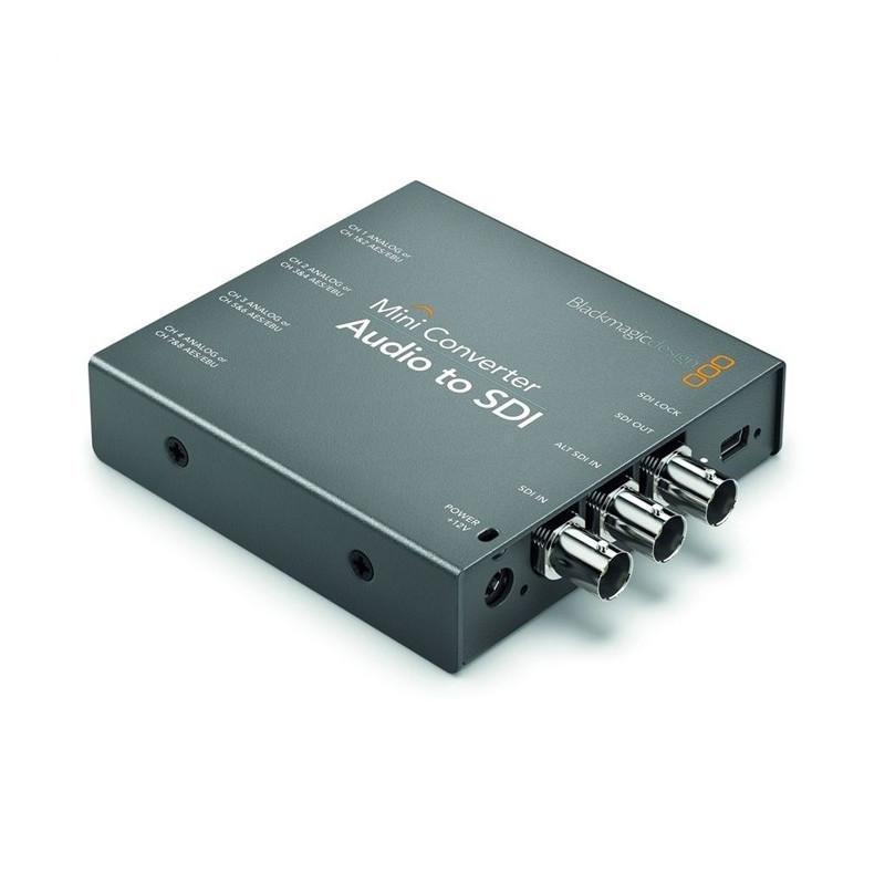 Blackmagic Mini Converter Audio to SDI
