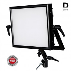 Akurat D4 -dyfuzyjny panel LED studio kit