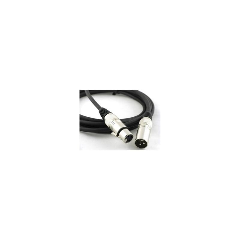 Kabel XLR 40cm (M/F)