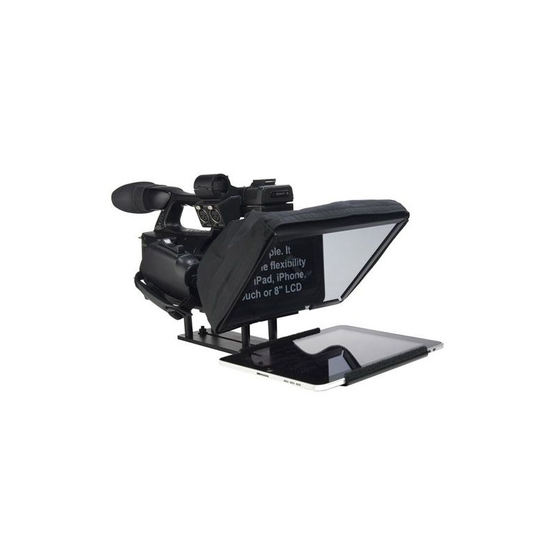 "UltraLight iPad 10"" teleprompter"