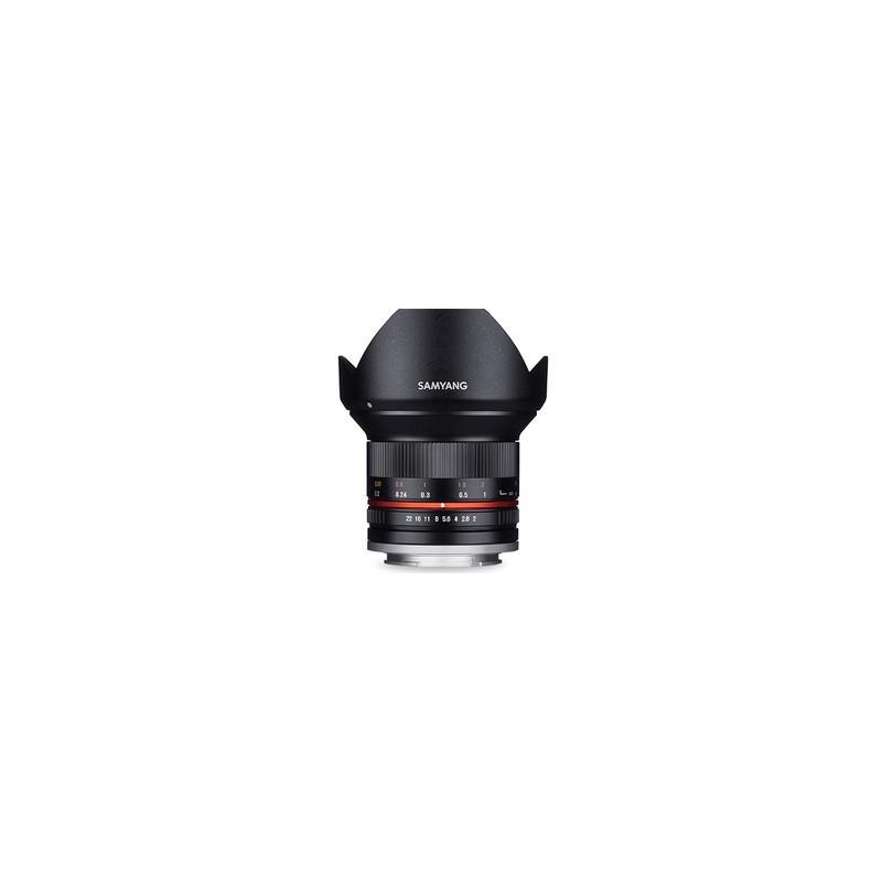 Obiektyw Samyang 12mm F2,0 do micro 4/3