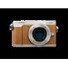 Aparat Panasonic DMC-GX80EG-S body (srebrno-brązowy)