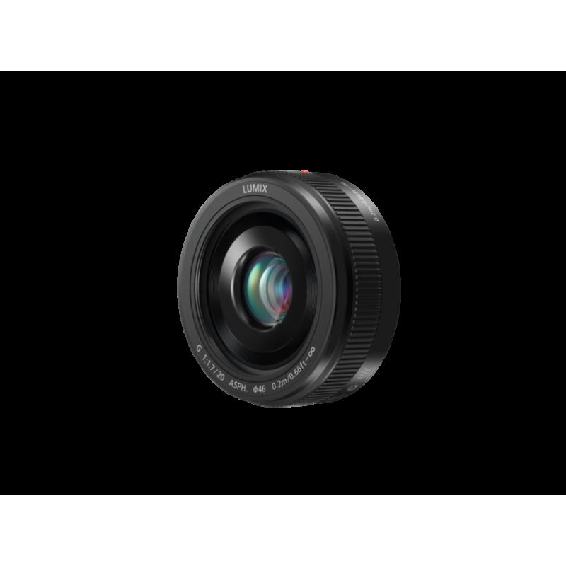Obiektyw Panasonic LUMIX G 20mm / F1.7 II ASPH.(H-H020AE)