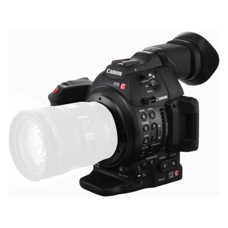 Kamera Canon EOS C100 Mark II + Rekorder