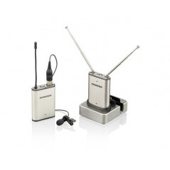Samson AIRLINE MICRO LAV/LM10 - nakamerowy zestaw bezprzewodowy z mikrofonem (645,500Mhz) ( powystawowy )