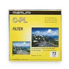 Filtr Marumi Yellow Filtr fotograficzny CPL 72 mm
