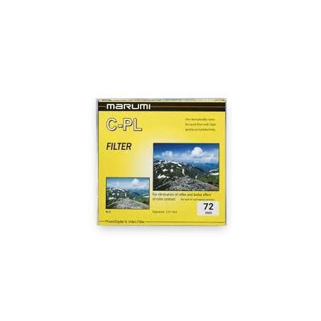 Filtr Marumi Yellow Filtr fotograficzny CPL 72 mm