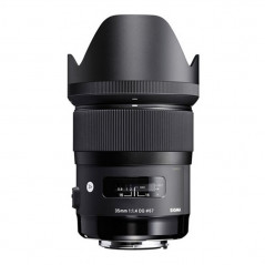 Sigma 35mm f1.4 ART DG HSM Nikon + Pendrive LEXAR 32GB WRC za 1zł + 5 lat rozszerzonej gwarancji