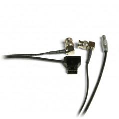 Zacuto 4 Pin Lemo Power & Video Cable