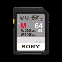 Karta pamięci Sony Professional SDXC 64GB UHS-II (SF64M)