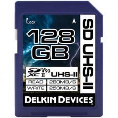 Karta pamięci DELKIN 128GB SDXC 633X UHS-II MFR