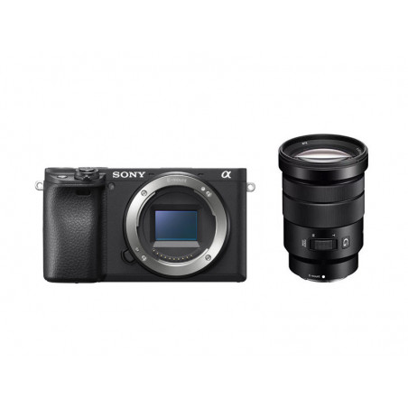 Sony A6400 + obiektyw Sony 18-105mm f/4 G OSS PZ (ILCE-6400GBDI)