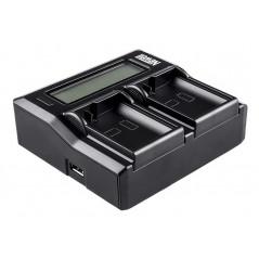 Ładowarka dwukanałowa Newell DC-LCD do akumulatorów EN-EL14