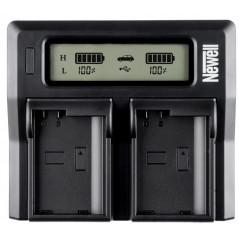 Ładowarka dwukanałowa Newell DC-LCD do akumulatorów serii NP-FW
