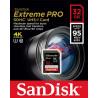 Karta pamięci SANDISK Extreme PRO 32GB SDHC Class 10 UHS-I U3
