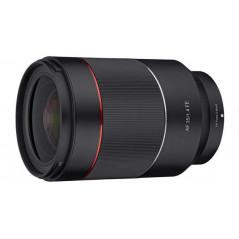 Obiektyw Samyang AF 35mm F1.4 Sony E + Lens Station za 1 zł