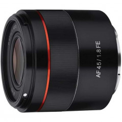 Obiektyw Samyang AF 45mm F1.8 Sony E + Lens Station za 1 zł