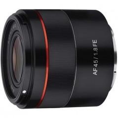 Samyang AF 45mm f/1.8 Sony E + Lens Station za 1zł