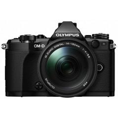 Olympus OM-D E-M5 Mark II czarny + obiektyw Zuiko Digital 14-150mm f/3.5-5.6 - odbierz M.Zuiko 45mm oraz grip HLD-8G za 1 zł!
