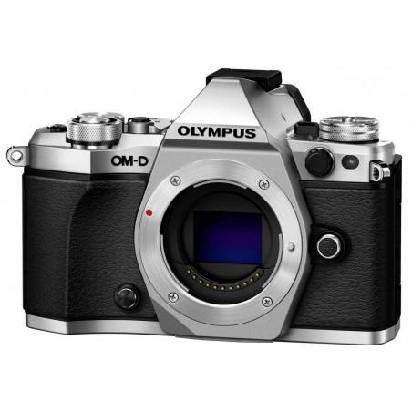 Olympus OM-D E-M5 MarkII Body srebrny - odbierz M.Zuiko 45mm oraz grip HLD-8G za 1 zł!