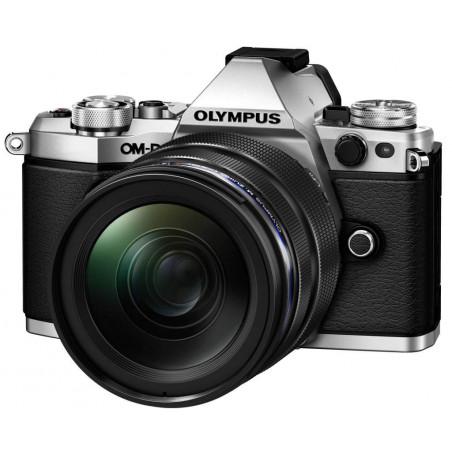 Olympus OM-D E-M5 MII srebrny + obiektyw M. Zuiko 12-40mm f/2.8