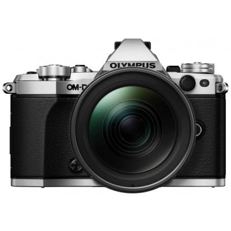 Olympus OM-D E-M5 MII srebrny + obiektyw M. Zuiko 12-40mm f/2.8 - odbierz M.Zuiko 45mm oraz grip HLD-8G za 1 zł!