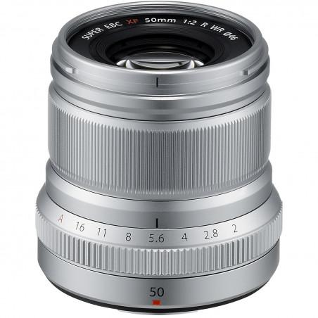 Fujifilm XF 50mm f/2.0 R WR Srebrny