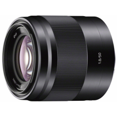 Sony E 50mm f/1.8 OSS do APS-C (SEL50F18B) + CASHBACK 100zł