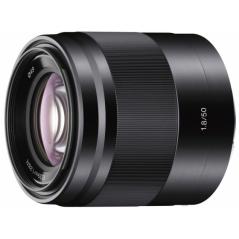 Sony E 50mm f/1.8 OSS do APS-C (SEL50F18B) | STARE NA NOWE 65zł