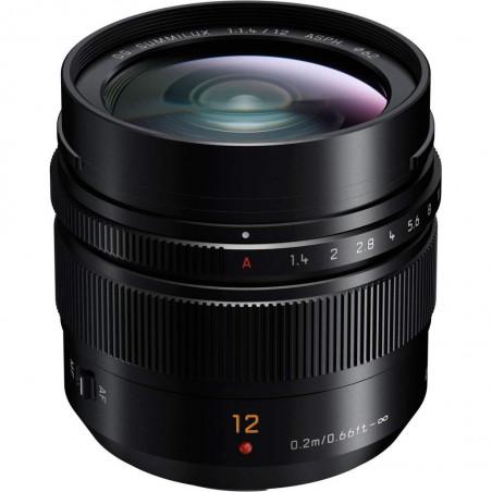 Panasonic LEICA DG Summilux 12mm f/1.4 ASPH (H-X012)