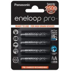 Akumulatory Panasonic Eneloop PRO AA 2500 mAh 500 cykli 4szt