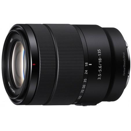 Sony E 18-135mm f/3.5-5.6 OSS (SEL18135)  STARE NA NOWE 100zł