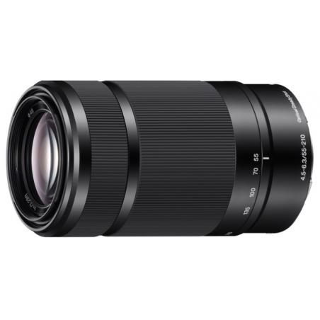 Sony E 55-210mm f/4.5-6.3 OSS czarny (SEL55210) | RATY 12 x 0%