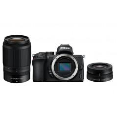 Nikon Z50 + Nikkor 16-50mm f/3.5-6.3 VR DX + Nikkor 50-250mm f/4.5-6.3 VR D