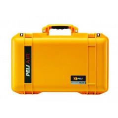 Twarda walizka Peli 1535 Air Case (żółta) z wypełnieniem modułowym