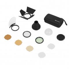 Quadralite Zestaw akcesoriów Reporter 200 TTL Round Head Accessory Kit
