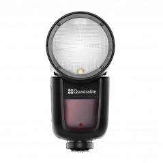 Quadralite Stroboss V1 (Nikon) lampa nakamerowa