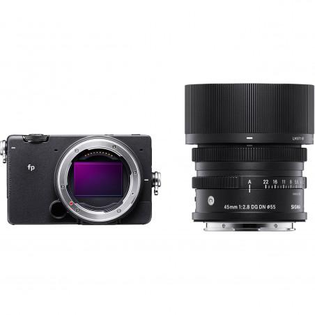 SIGMA fp + C 45/2.8 DG DN L-MOUNT + SIGMA MC-21 za 1 zł •• ilość aparatów w promocji ograniczona ! ••