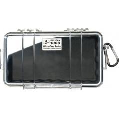 Peli 1060 mikro skrzynka, czarno/przeźroczysta