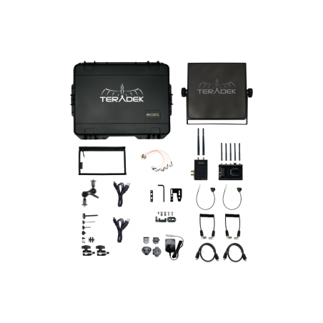 Teradek Bolt 3000XT SDI/HDMI Wireless Tx/Rx Deluxe Kit (V Mount) plus a FREE Sidekick XT Receiver