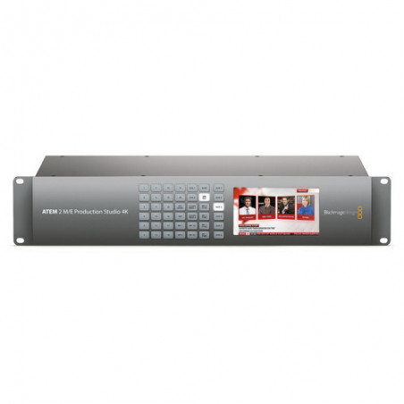 Blackmagic ATEM 2 M/E Production Studio 4K - 20-Kanałowy Mikser 6G-SDI