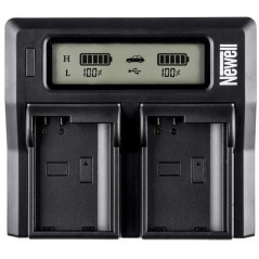 Ładowarka Newell LCD Dual Charger do Canon LP-E6