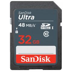 Karta pamięci SANDISK SDHC 32GB ULTRA 48MB/s C10 UHS-I