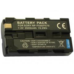 ZOOM akumulator NP-F550/570 2600mAh